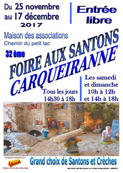 Foire aux santons Carqueiranne 2017 Var 83