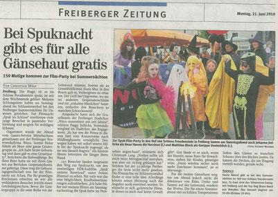 "21.06.2010 ""Freiberger Presse"""