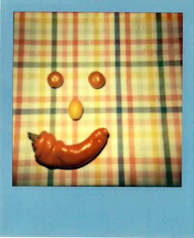 Selbstgeerntete Tomaten, Kumquat und Paprika = Gartenglück :-)