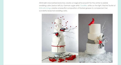 'The Winter Wedding Cake Design Guide' | Dezember 14