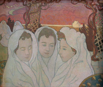 《三人のマルタの肖像》1892年
