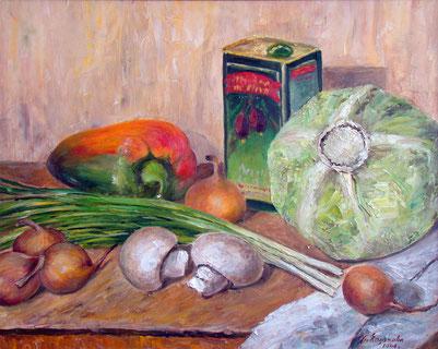 """Татьяна Казакова. """"Готовьте овощи на оливковом масле"""", 2008"""