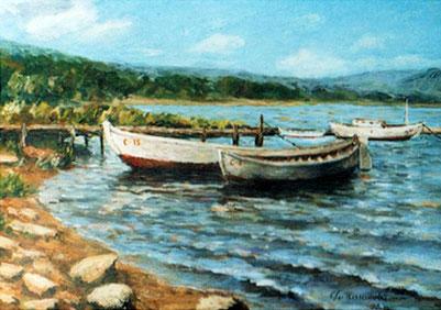 "Татьяна Казакова. ""Лодки"", 2002"
