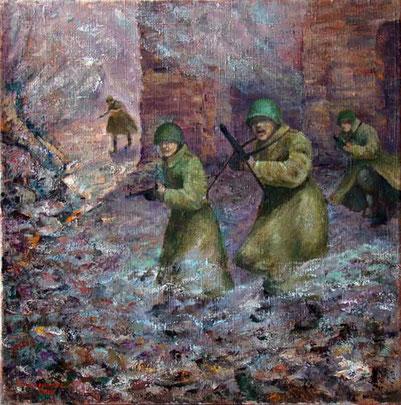 """Татьяна Казакова. """"Атака на рассвете"""", 2010"""