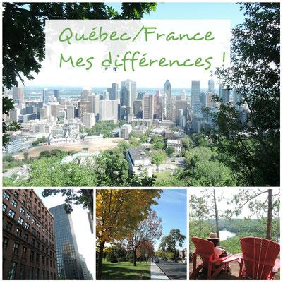 les differences entre la France et le Quebec