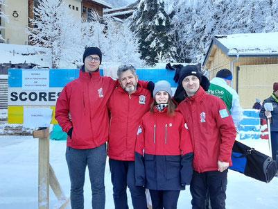 Valence Curling remporte la médaille de bronze du championnat de France open air !!!!!