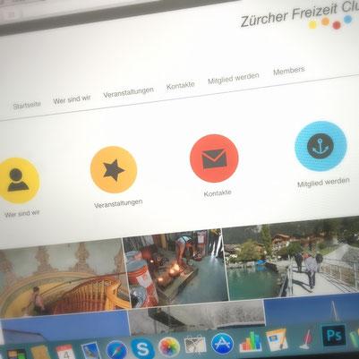 Druckatelier46 Mülchi - Foto Zürcher Freizeitclub - WebDesign - Neugestaltung  Webseite