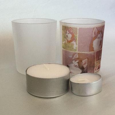 Druckatelier46 Mülchi - Foto Teelichthalter mit Fotodruck