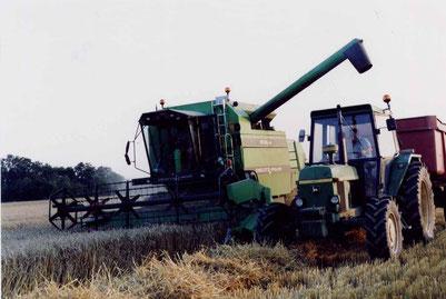 La moisson en 1990