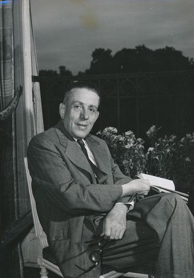 Photographie de Francis Poulenc (CD Galerie)