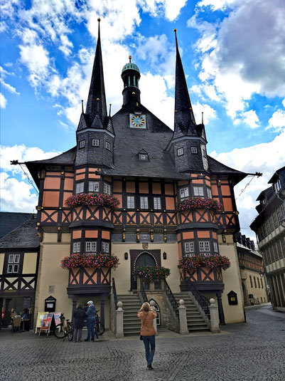Das Rathaus in Wernigerode- Einer der beliebtesten Fotospots der Stadt