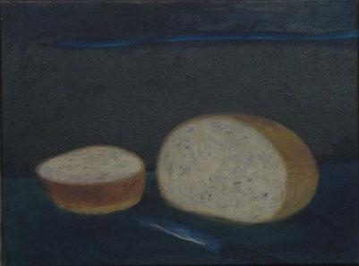 Brot, Öl/Leinwand, 30 x 40 cm, 2017