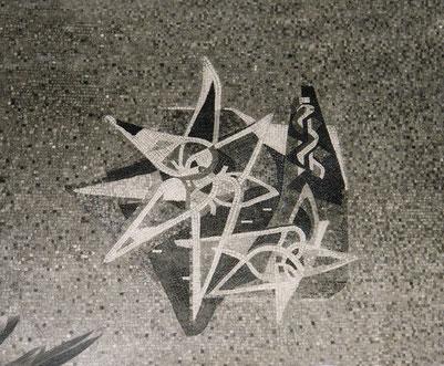 Mosaik, Polyklinik der Dynamit Nobel Leverkusen, Ende 1950er