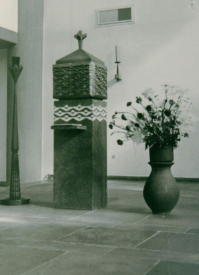 Tabernakel (1972), Kirche Christus König, Langenfeld (Rheinl.)