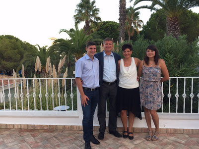 Sven, Achim, Marion und Janine Wessel