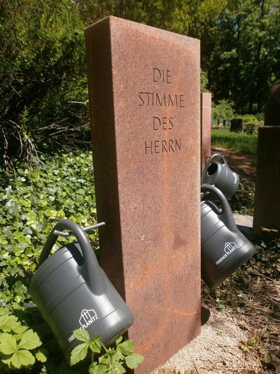 Foto: Friedhof Planitz  - Gißekannenständer