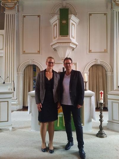 Katharina und Olaf in Elliehausen, St. Martinikirche