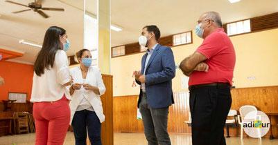 Visita a nuestras instalaciones de la Consejería de Derechos Sociales, Igualdad, Diversidad y Juventud
