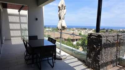 RES ILE MAURICE IMMOBILIER REVENTE APPARTEMENT 2 CHAMBRES TAMARIN VUE MER
