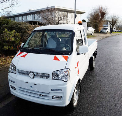 Elektro Transporter Pritsche