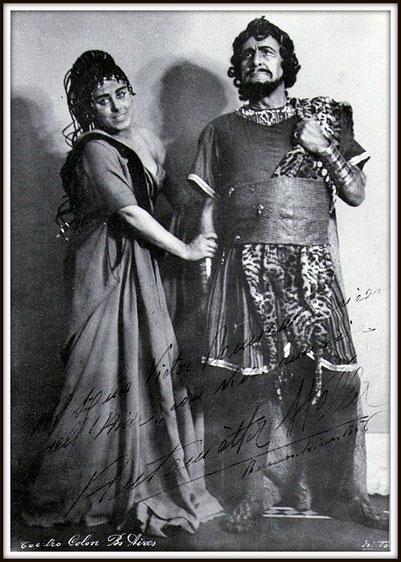 Amonasro - Aida - con Antonietta Stella (Aida) - Buenos Aires, Teatro Colón 15.6.1956
