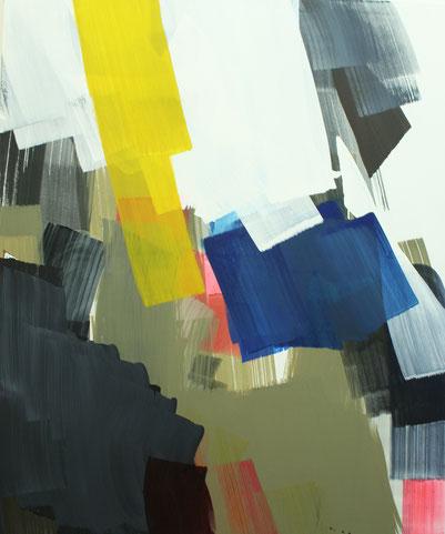 2013, Pigment, Acryl auf Leinwand, 120cm x 160cm