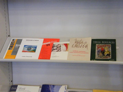 Immagine & Poesia has been delivered to the Library of GAM  (Gallery Modern Art) Torino