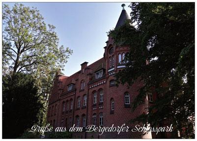 205 Bergedorfer Schloss Rückansicht