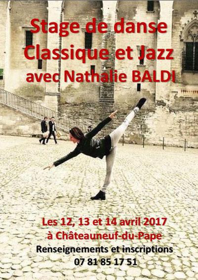 danse classique/jazz/stage sur Chateauneuf du Pape/ass arts et culture/emilie et Nathalie
