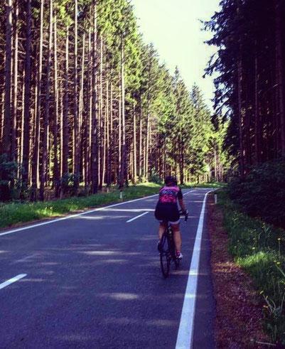 Mein Lieblings-Streckenabschnitt am Haunsberg