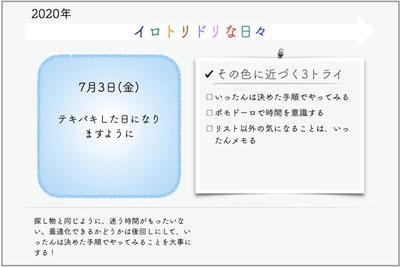 これはKeynote(Apple版パワポ。無料)で書いてます