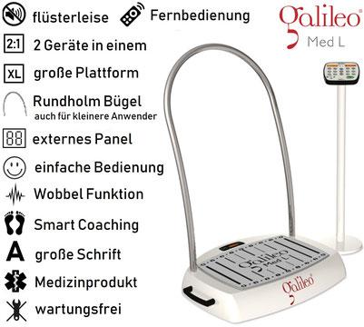 Vibrationsplatte Galileo Med L, Test, Vertrieb, Preis, Kosten, Preise: www.kaiserpower.com
