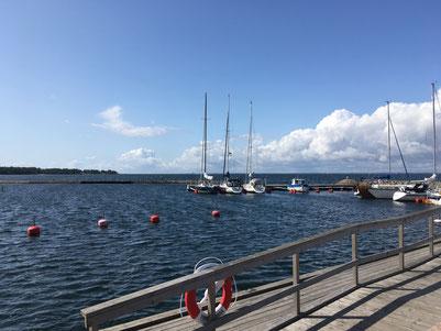Der Hafen von Stora Rör
