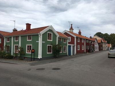 In der Altstadt von Kalmar