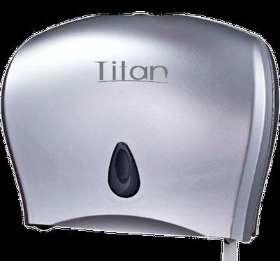 8003S Dispensador de papel higiénico Jumbo Siver. Medidas: 508X125X292mm