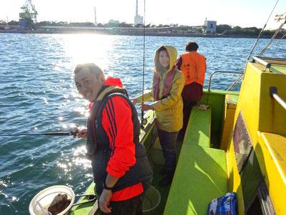 入社一年目の社員も釣り未経験でしたが、楽しんでいます!