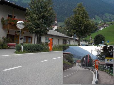 Geschwindigkeitskontrollboxen in St. Leonhard Passeiertal Südtirol