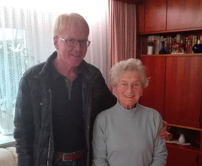 Dr. Schutt und Anne M. | Foto: privat