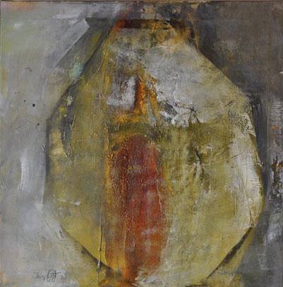 Ingrid Ott, Honigtopf, 60 x 60 cm