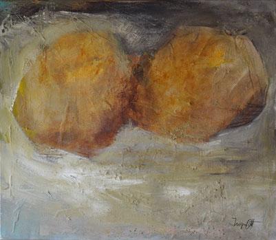 Ingrid Ott, Waben 60 x 70 cm