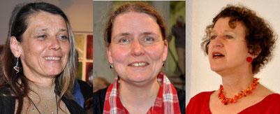 Karin Huttary, Hanna Jüngling, Rita Huber-Süß