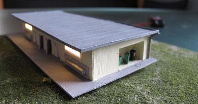 Gebäude Spur N (1:160)- bei Interesse auf Bild klicken