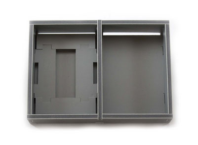 folded space insert organizer rising sun