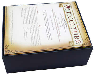 folded space insert organizer viticulture foam core