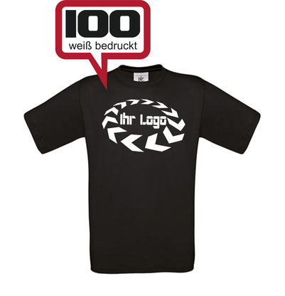 100 T-Shirts bedrucken