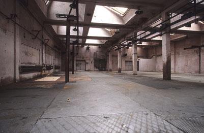 Interior de las salas de producción en la actualidad.             Foto Sebastien Fantini