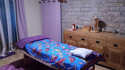 La salle de soins prête à vous dorlotter