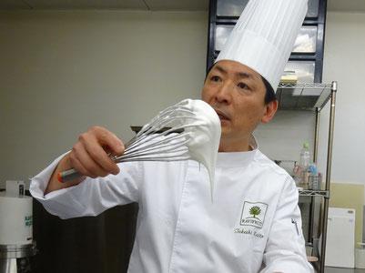 東京プリンスホテル 製菓・製パン料理長内藤武志 氏