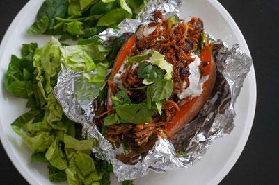 Knusprige Ofenkartoffeln | gesund und schnell zubereitet