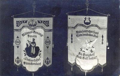 Bild: Wünschendorf Männergesangsverein Fahne